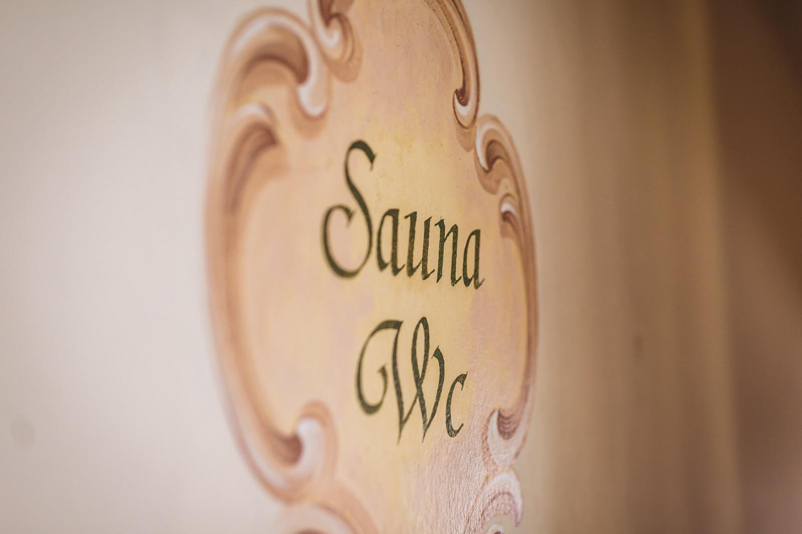 Saunabereich im Martini's