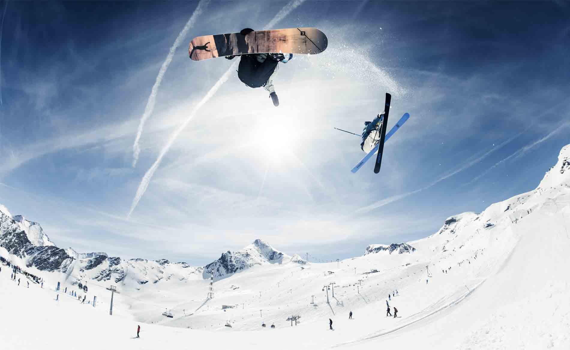 Snowparks am Kitzsteinhorn