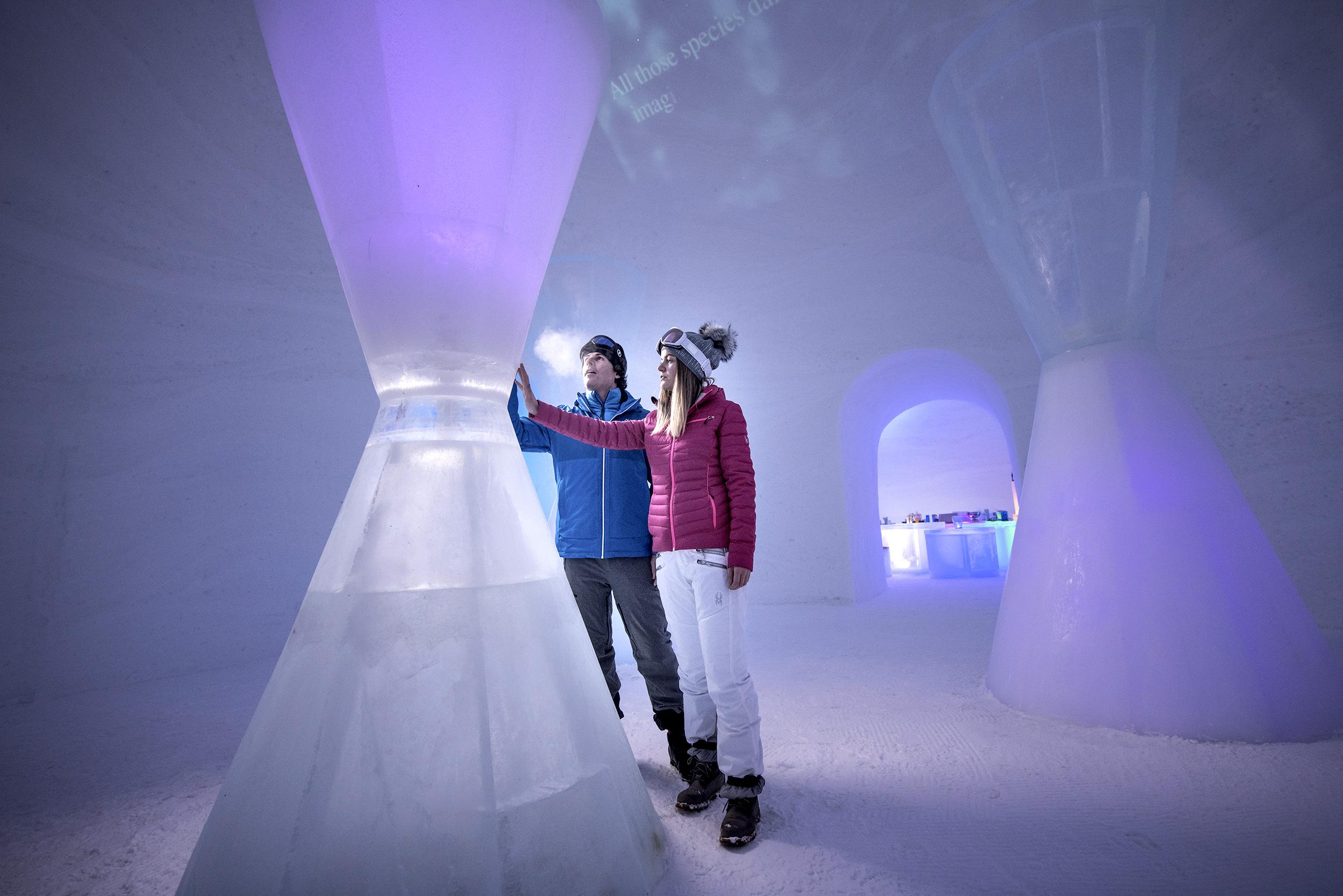 Ice Camp am Kitzsteinhorn