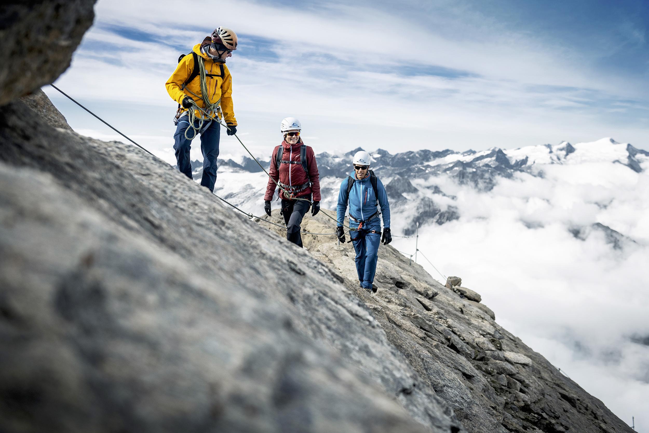 Mit Bergführern den Gipfel des Kitzsteinhorns erklimmen