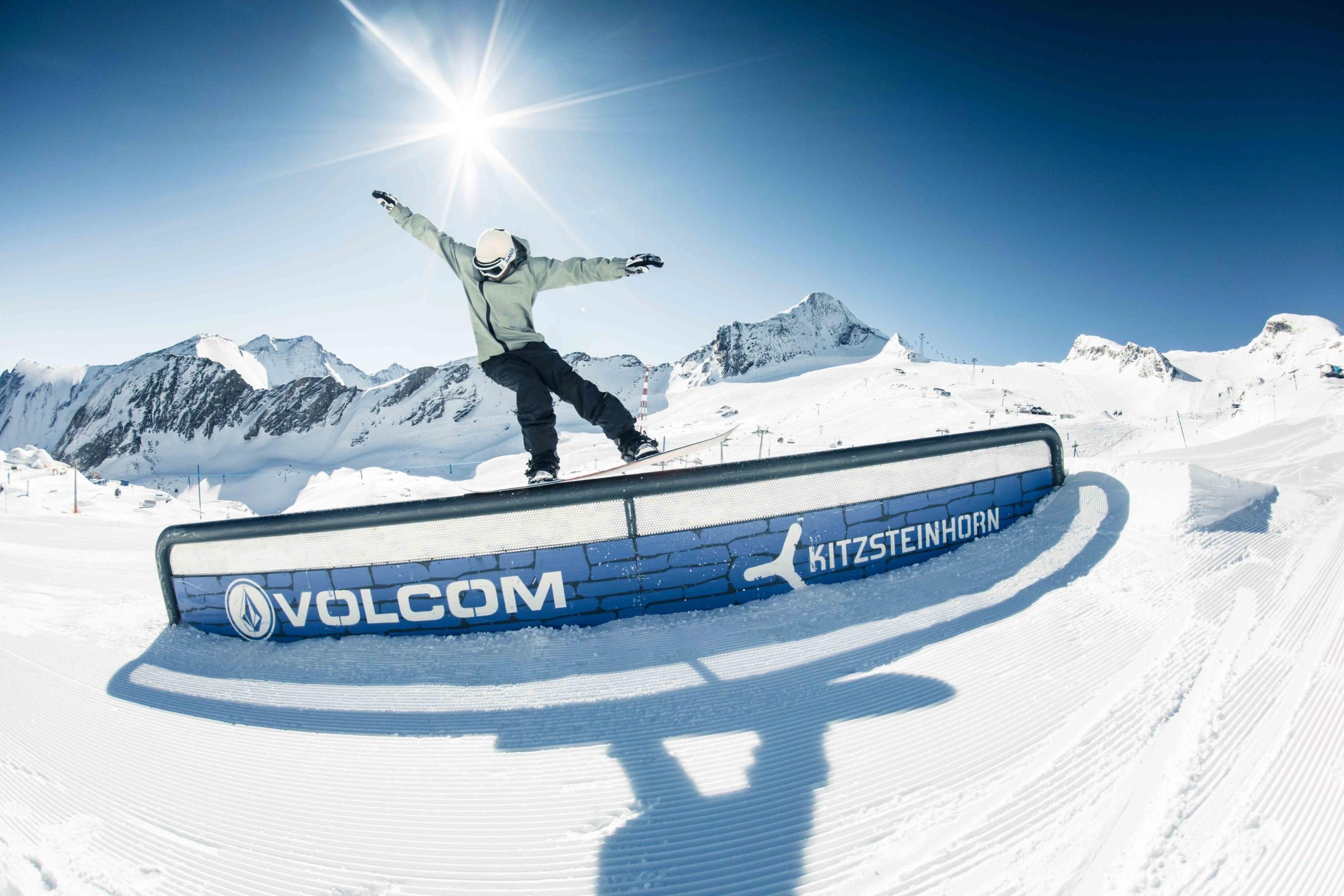 Snowpark am Kitzsteinhorn