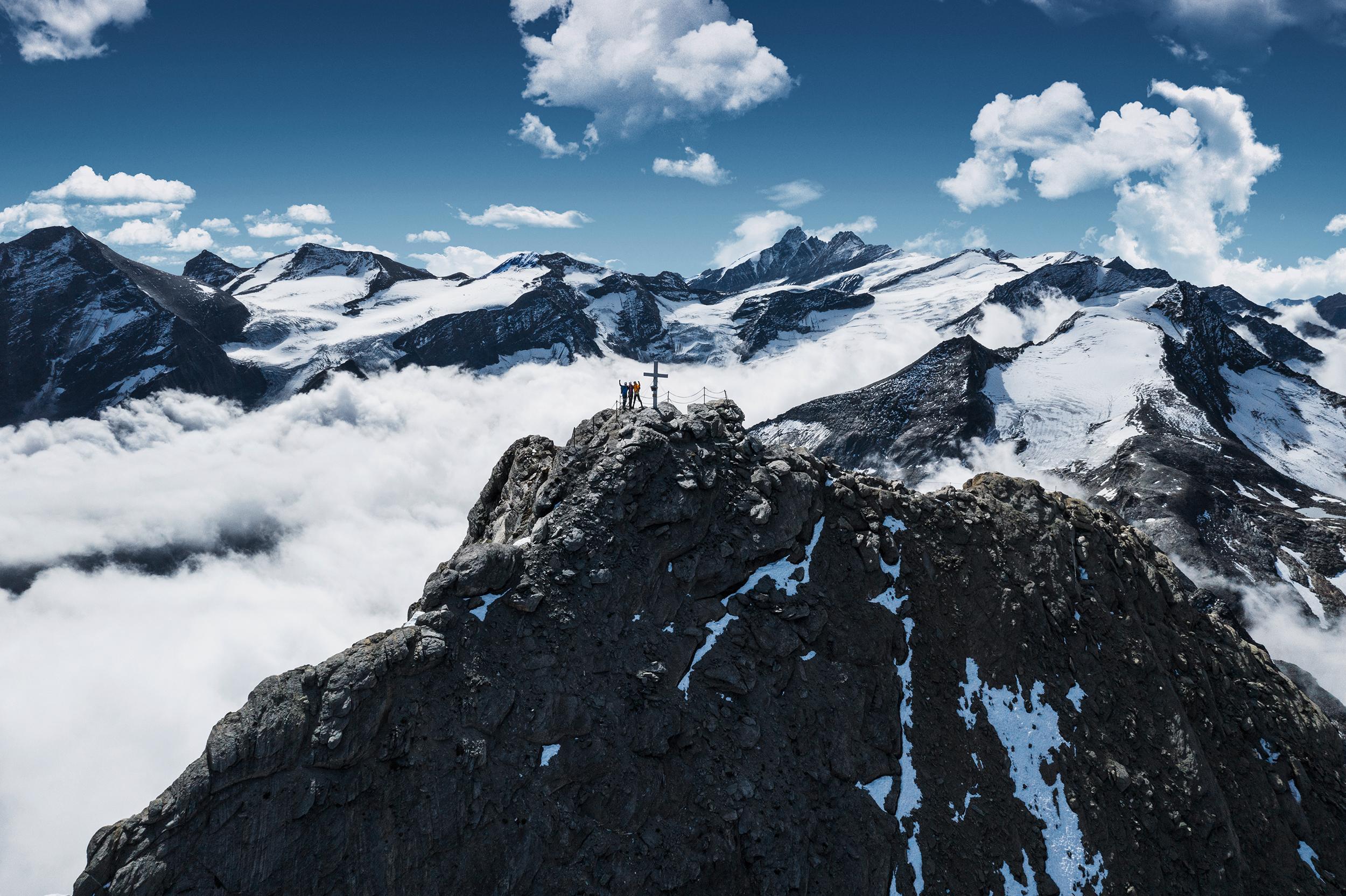 Geführte Besteigung des Gipfels Kitzsteinhorn
