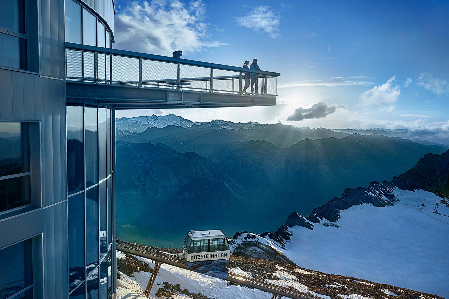 Kitzsteinhorn Aussichtsplattform auf 3.029m